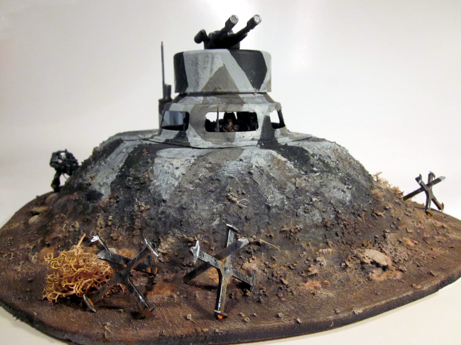Battleground Hobbies: How to Build a Bunker for Warhammer 40k Terrain