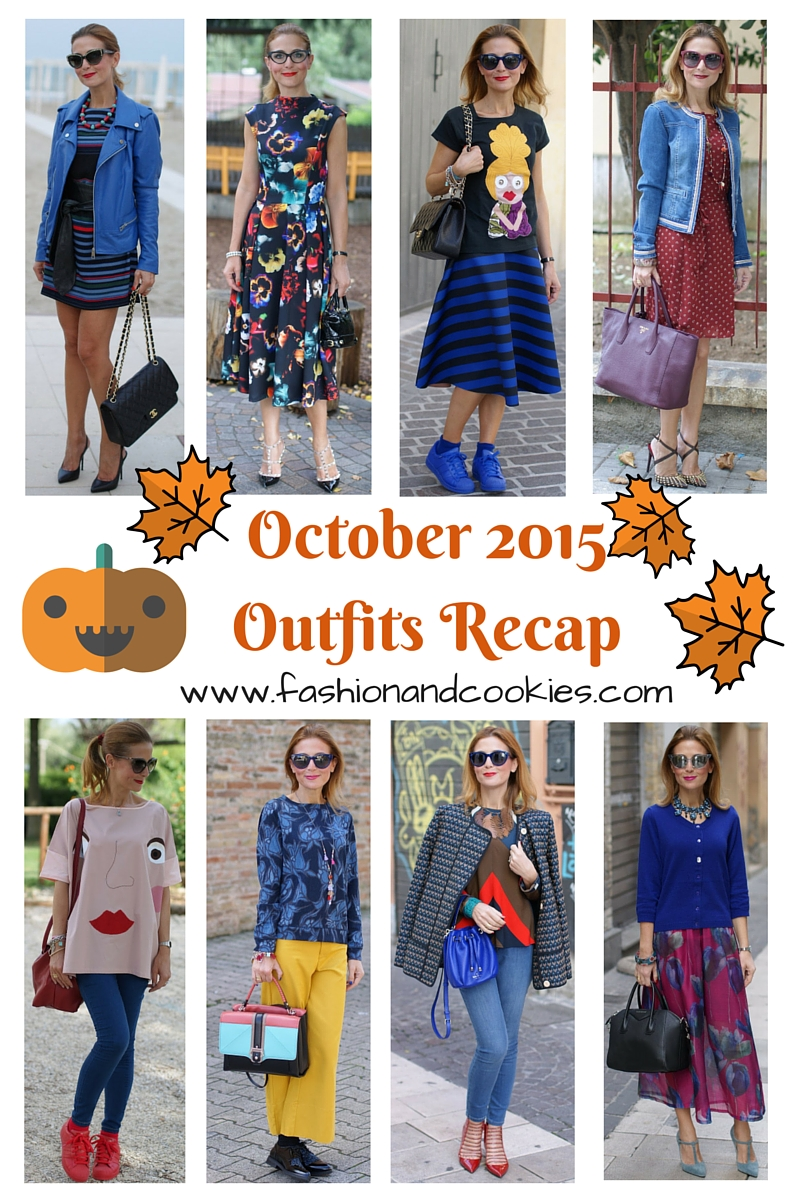 welcome november be good to me, fashion outfits recap from october on Fashion and Cookies fashion blog, fashion blogger style !