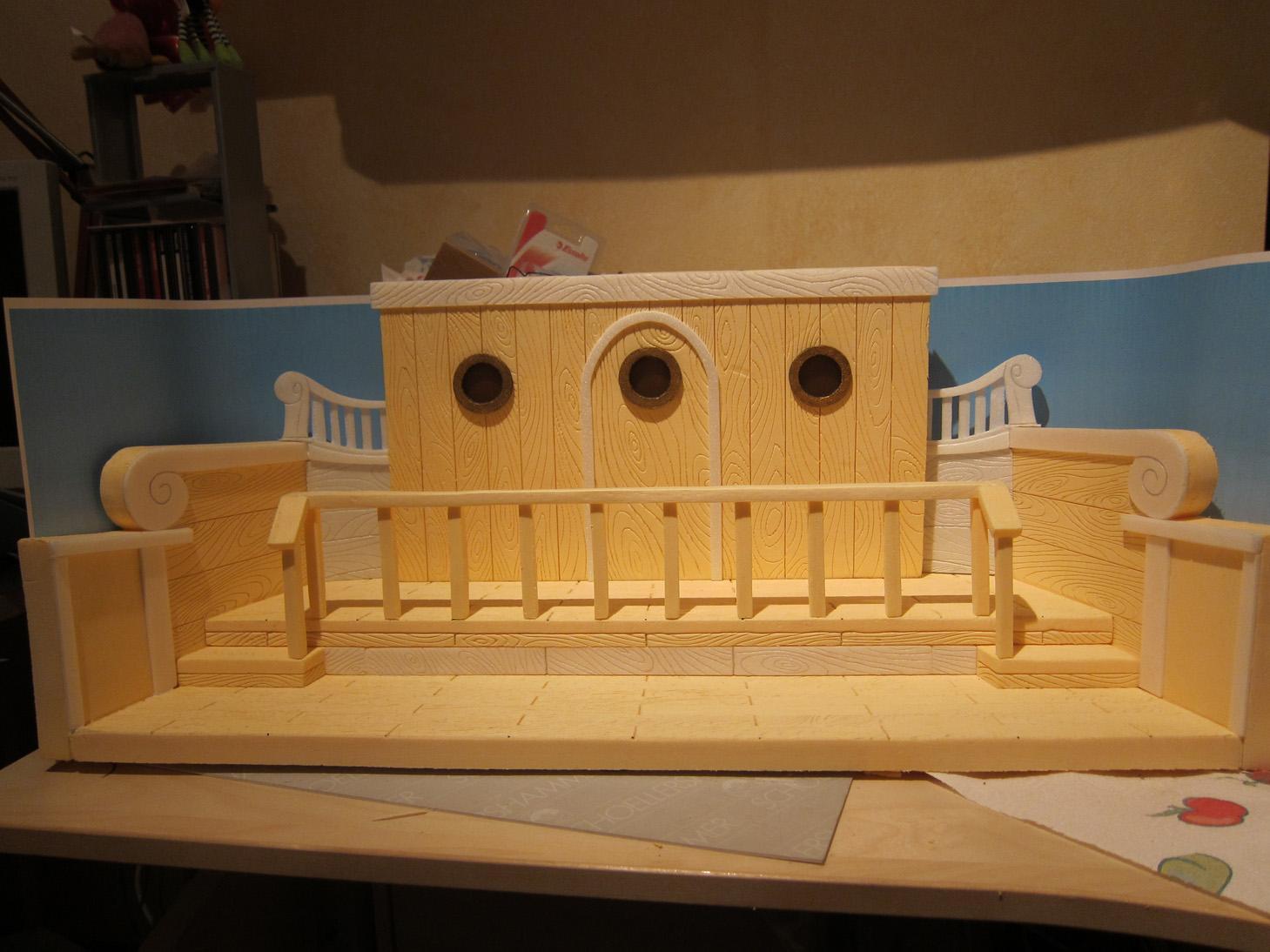 Fen tre sur diorama going merry par dario noli for Separation decorative entre 2 pieces