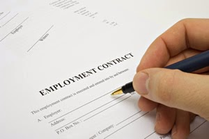 Free Example For Employment Contract Letter