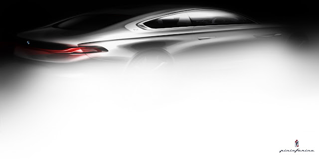 BMW Teases the Pininfarina Gran Lusso Coupe Bound for the Concorso d'Eleganza Villa d'Este