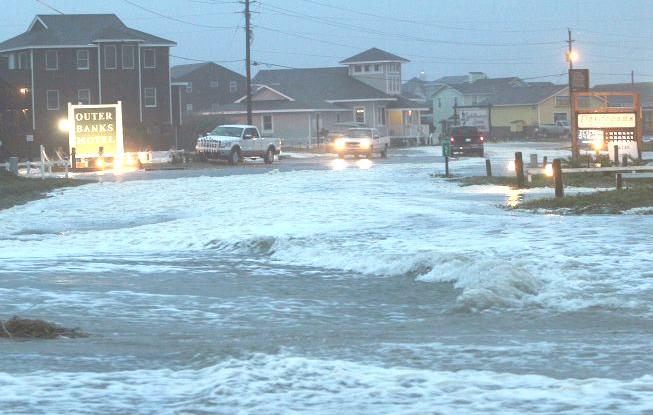 Hurricane Sandy Damage roads