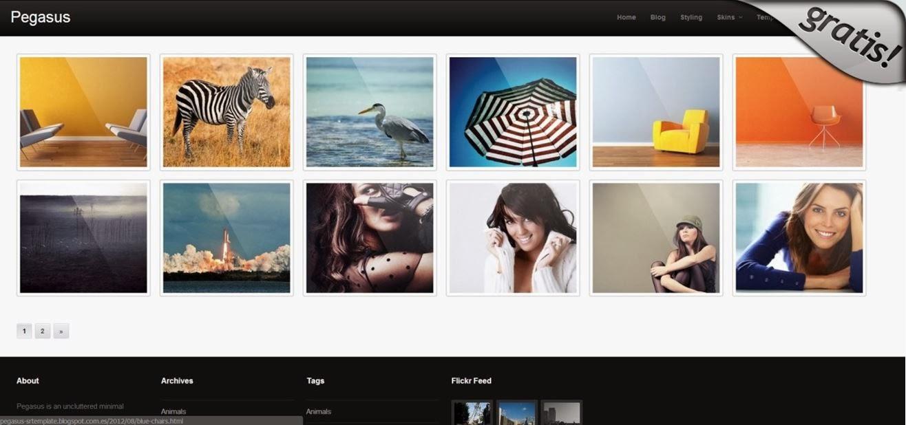 Las 10 mejores plantillas Responsive Design graits para blogger ...