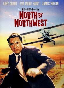 Portada de la película Con la Muerte en los Talones (North by Northwest)