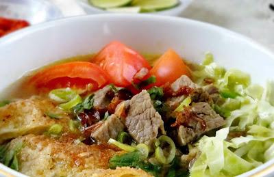 Resep dan cara membuat menu Mie Soto Jamur
