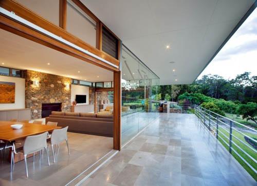 architecture Yallingup Residence terrace 1