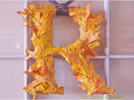 Manualidades de hojas secas manualidades for Decoracion con hojas secas