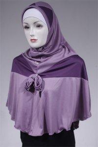 Jilbab Mardha Mulan A - Ungu Muda [ M ] (Toko Jilbab dan Busana Muslimah Terbaru)