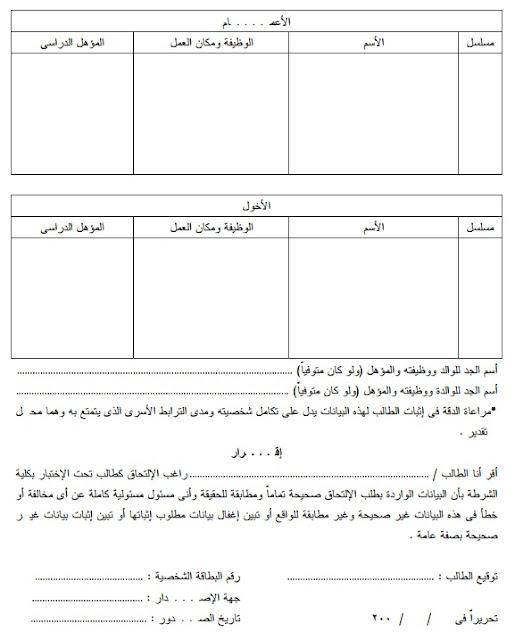 التقديم بكلية الشرطة المصريه 2015 المواعيد والشروط والاوراق والرسوم المطلوبه