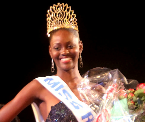 Miss Republique Democratique du Congo 2012 winner Christelle Mbeni