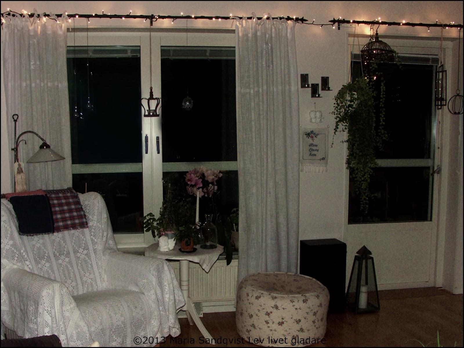 Lev livet gladare: mysbelysning i vardagsrummet