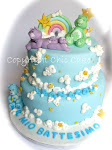 torta ORSETTI DEL CUORE - CARE BEARS CAKE
