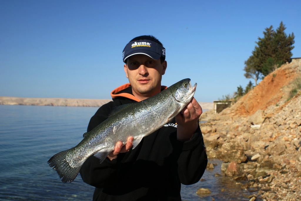 Fishing in croatia and in the neighbourhood rainbow in for Fishing in croatia