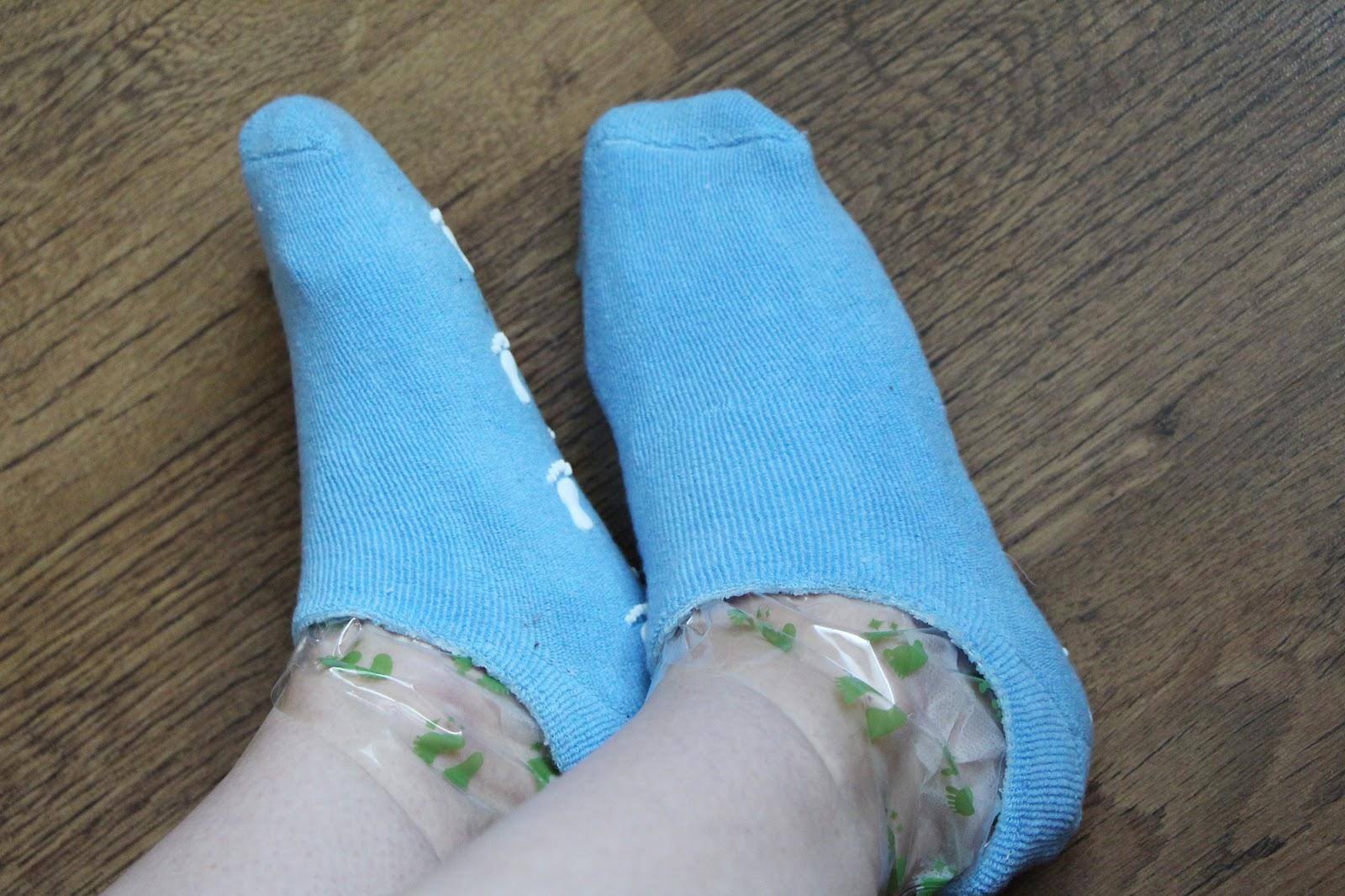 Как сделать носки для ног