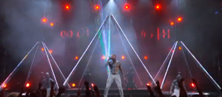 chris brown illuminati triangles