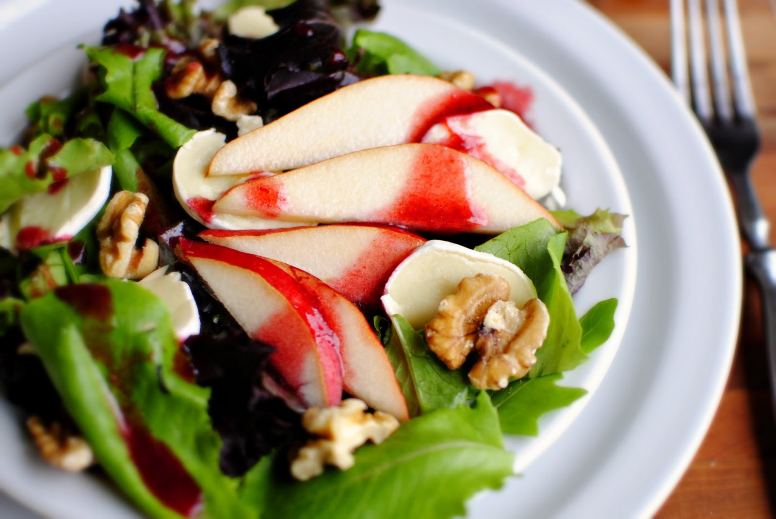 Blackberry Salad With Blackberry Vinaigrette Recipes — Dishmaps