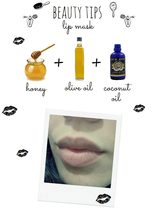 lip-mask-beauty-honey-oil-diy-handmade-labios-mascarilla-belleza
