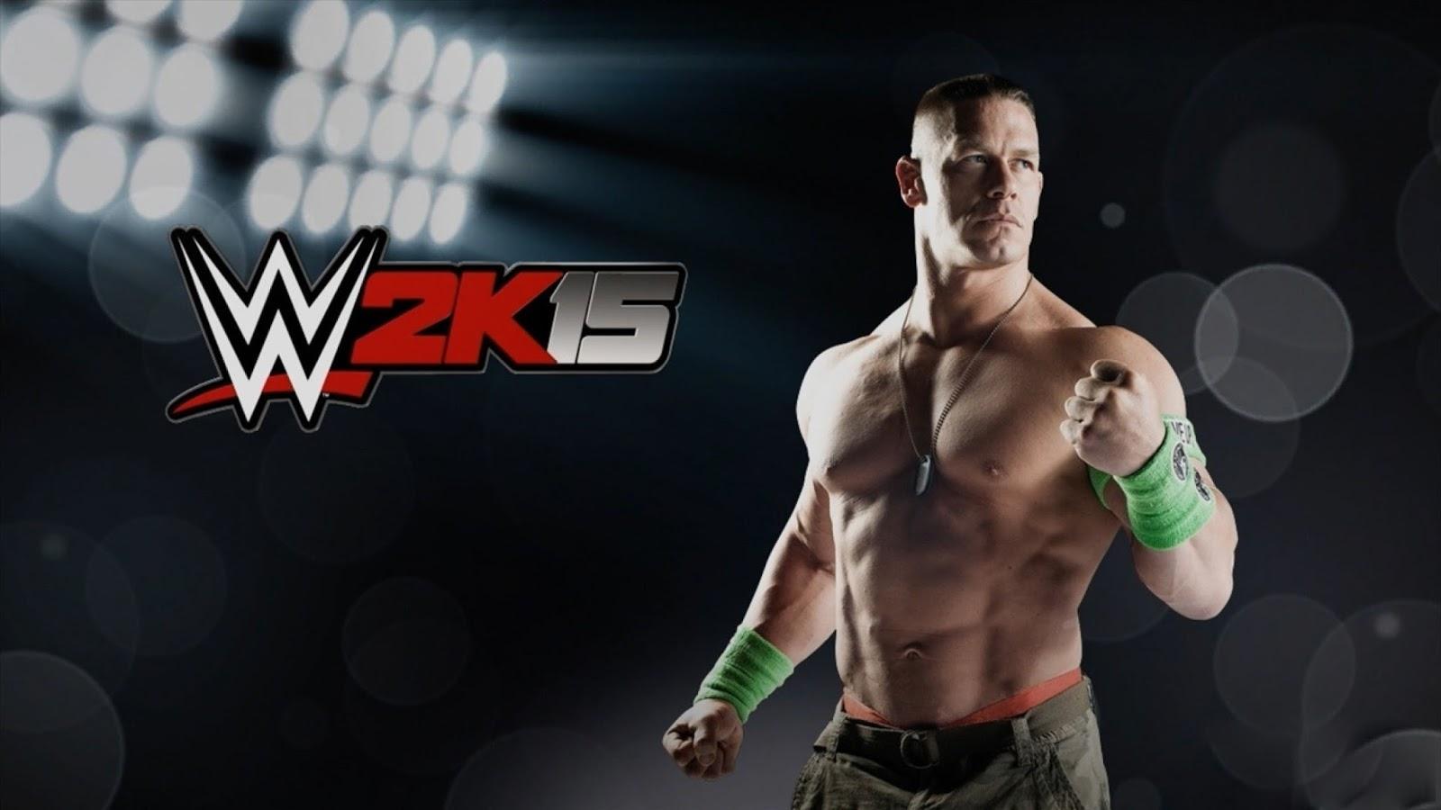 WWE 2K15 John Cena Latest wallpaper HD