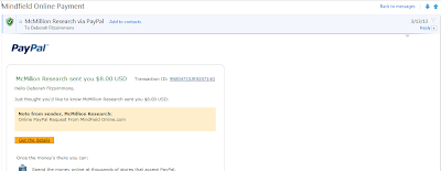 Mindfield Payment Proof