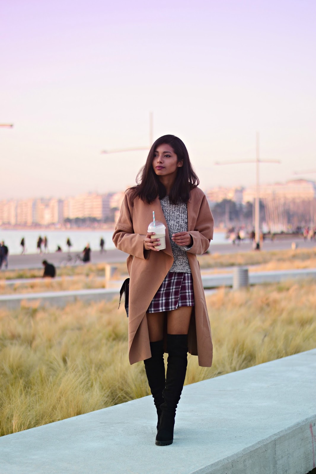 k-meets-style How to style camel coats in winter