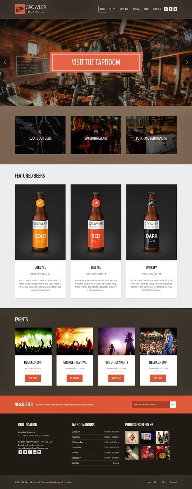 Best Responsive HTML Template 2015