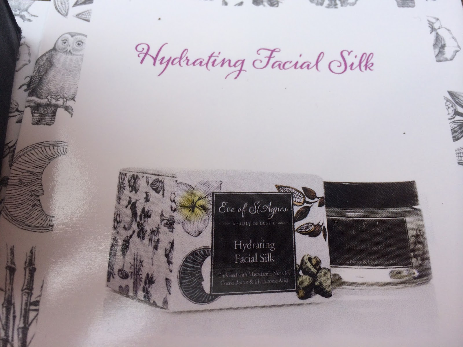 Eve of St Agnes - Hydrating Facial Silk
