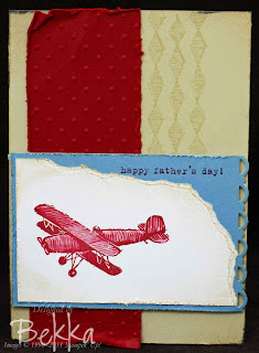 Plane & Simple Fathers Day Card
