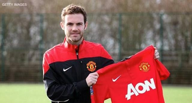 Juan Mata jugador del Manchester United