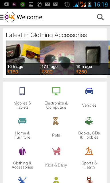 OLX site & app review