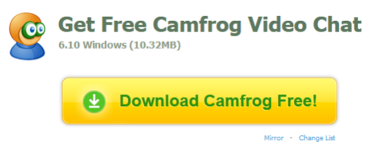 Perkembangan Camfrog Video Chat