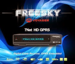 FREESKY 7 NET HD CABLE GPRS