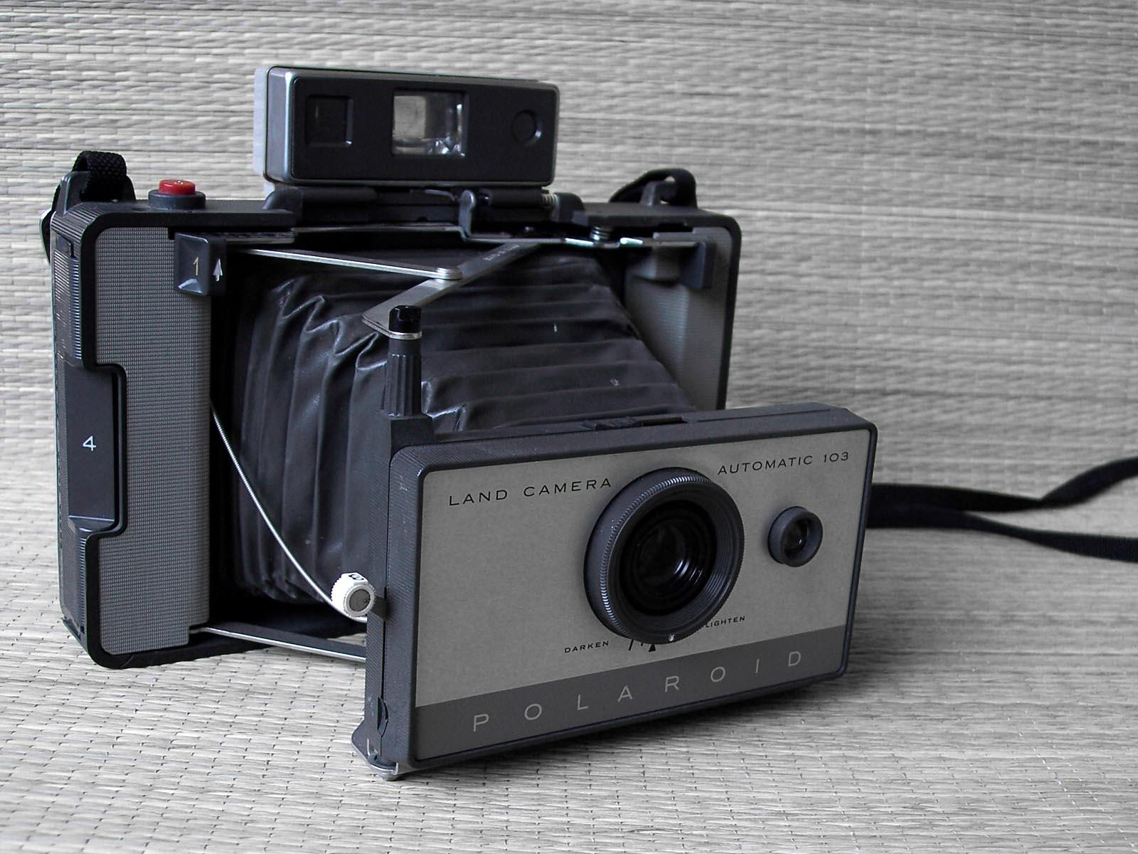 la Polaroid Automatic 103 Del