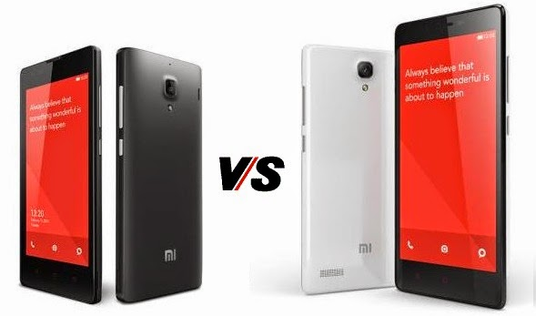 Xiaomi Redmi 1S vs Redmi Note