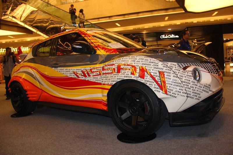 Modifikasi Mobil Nissan Juke