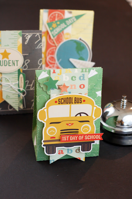 School Lunch Treat bags by Jen Gallacher found at www.jengallacher.com