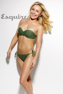 Hayden Panettiere Sexy Bikini For Esquire January 2013