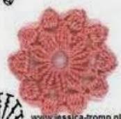 PATRON GRATIS FLOR DE CROCHET 2595