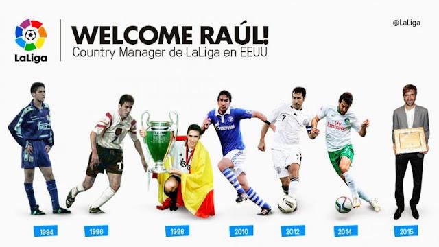 Raúl, nuevo embajador de La Liga en Estados Unidos