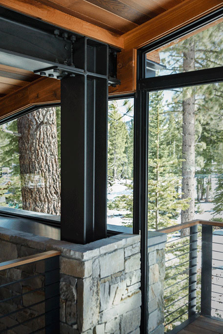 Marvelous Mountain Home is a Sagemodern Prefab