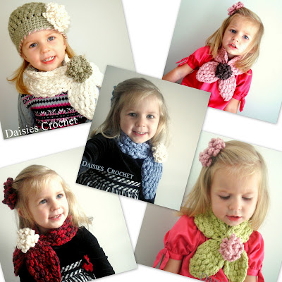 crochet girl scarves pdf