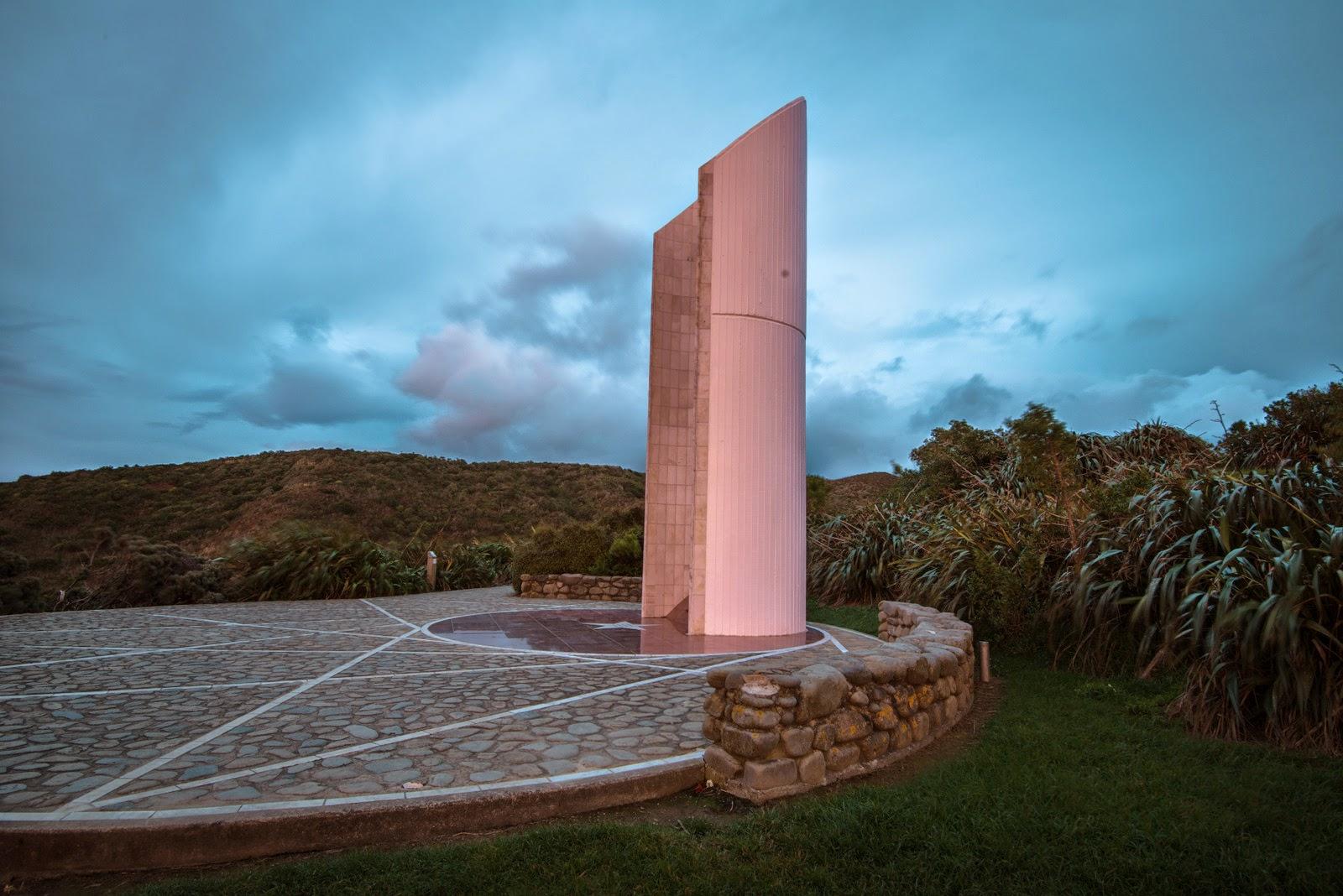Stormy skies Ataturk memorial