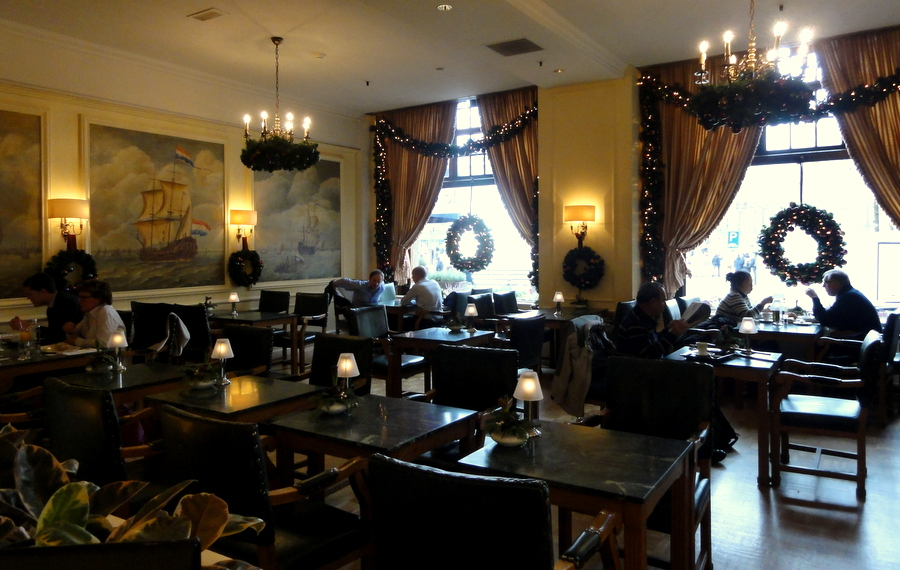 A Birthday Afternoon Tea At Grand Cafe Mathilde Hotel Krasnapolsky