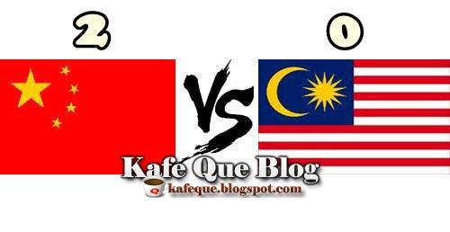KEPUTUSAN PENUH MALAYSIA VS CHINA VS MALAYSIA PERSAHABATAN 10 SEPTEMBER 2013, GOL MALAYSIA VS CHINA 2013