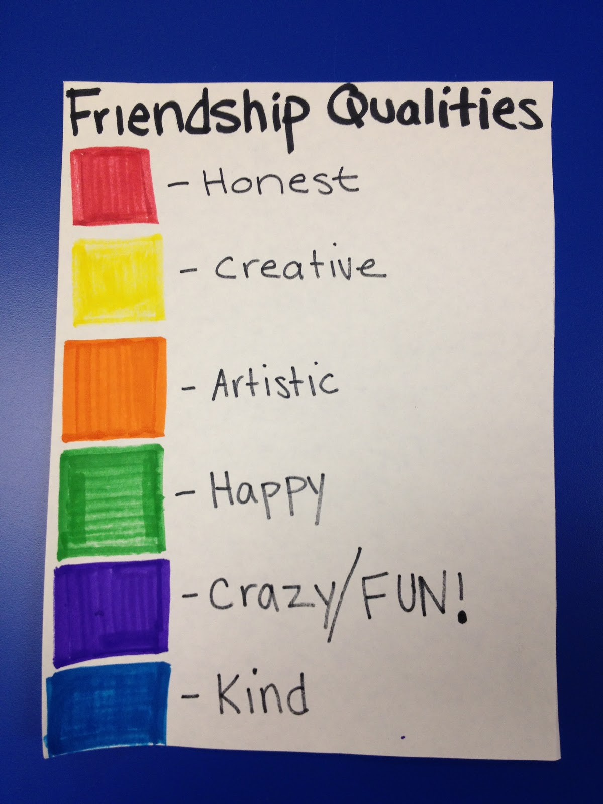 friendship qualities essay