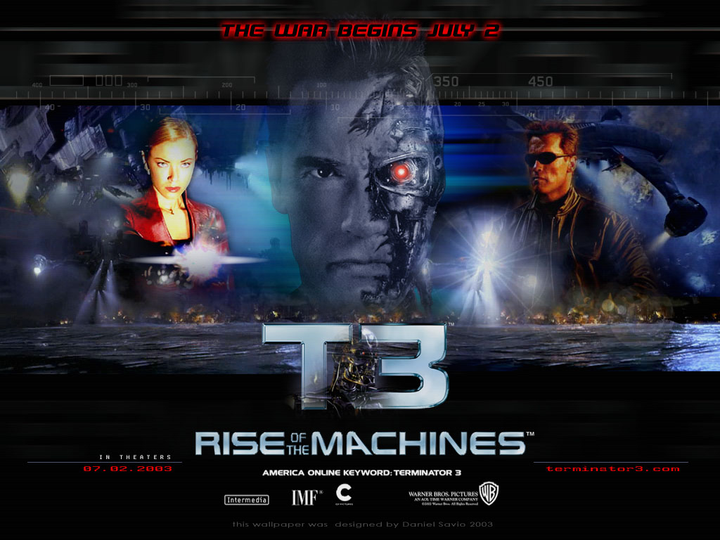 Terminator    Judgment Day Movie Poster     of      IMP Awards Download wallpaper Terminator    Rise of the Machines  Terminator    Rise  of the Machines  film  movies free desktop wallpaper in the resolution      x