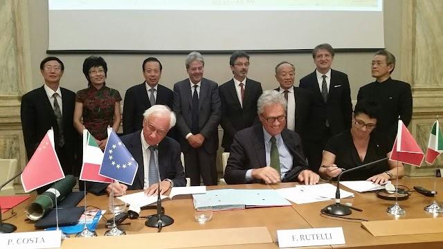 Venezia e Ningbo firmano un accordo per lo sviluppo degli scali