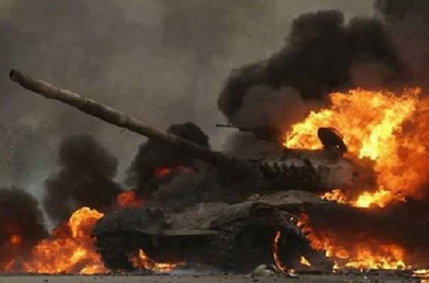 Rusia Kaget, Puluhan Tank Dihancurkan Pasukan Tak Dikenal