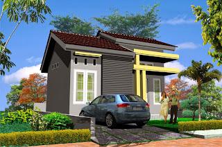 rumah minimalis modern type 21