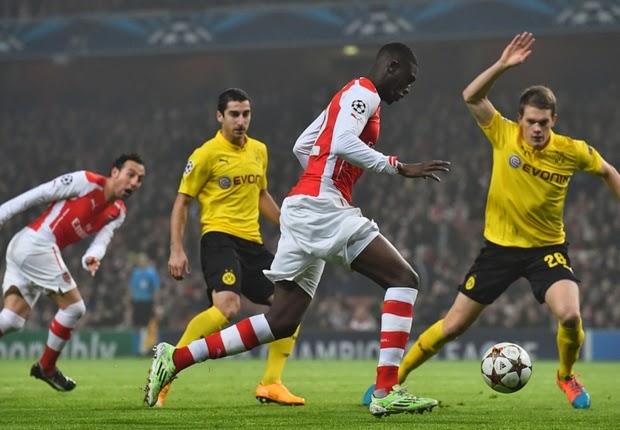 Arsenal Hancurkan Perlawanan Dortmund 2 Gol