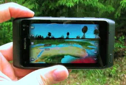 Nokia 3D World Gaze Demo